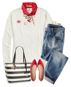 """A sweet-talkin', sugar coated candyman."" by teamboby ❤ liked on Polyvore featuring Scotch & Soda, Tommy Hilfiger, J.Crew, Kate Spade, Chanel, women's clothing, women's fashion, women, female and woman"