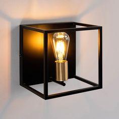 Raffinés Bauhaus mural e27 Noir Couverture Murale éclairage Lampe Table à manger