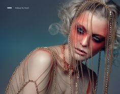 Doll Like - Photography and Art Directing Ron Goldstein  Makeup, Hair & Styling Einat Dan