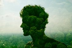 [Pics] City Silhouettes: Portraits Made Using Cities, People And Glass