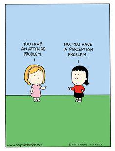 Angry Little Girls Comic Strip on GoComics.com