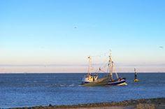 Fischkutter vor Cuxhaven