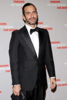 Parsons Alumnus Marc Jacobs at the Parsons Fashion Benefit.