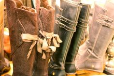 Boots at Sweet Annies.