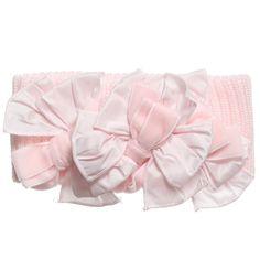 Aletta Pink Bow Headband  at Childrensalon.com