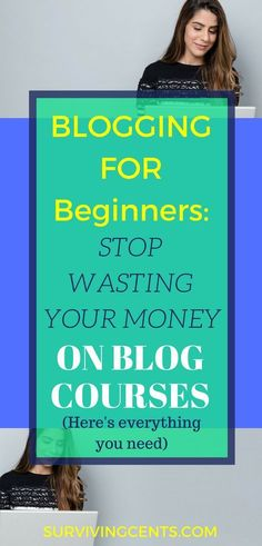 Stop wasting money on blog courses.