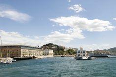 Puerto de Cartagena y costa desde Barco Turístico