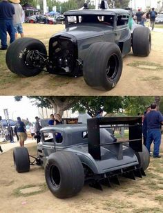 When you a Rat Rod guy but F1 is life - Muscle