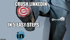5 simple LinkedIN tips for Real estate agents. Blog post with a video showing 10 minute methods to increase exposure on LinkedIN.