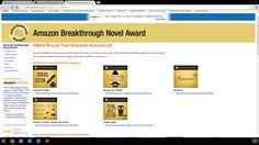 New Frontier of Love is an Amazon Breakthrough Novel Award 2014 Quarter-finalist!