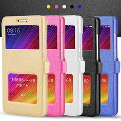abb27fb24f397 View Window Leather Case For Xiaomi Redmi 4 pro   Redmi 4A Magnet Flip Cover  for Redmi 4A   Redmi 4 prime 4pro Phone Bags Coque-in Flip Cases from ...