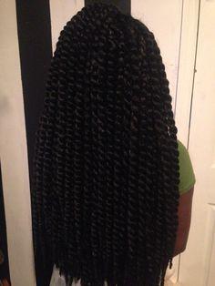 @RaiiiLeooo : Havana mambo twist 24' crochet twist !! Protective hair style & quick and easy to do !!