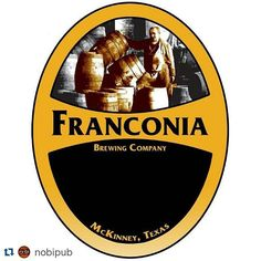 #Repost @nobipub with @repostapp  @franconiabrewing Pint Night @nobipub Wednesday November 18th at 5pm! Come see me Houston friends! #Drinklocal #TXCraft by franconiabrewing