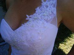 Robe de mariée tulle et broderies collection Hervé Mariage 2013