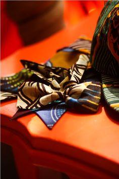 Babatunde Ankara print bowties