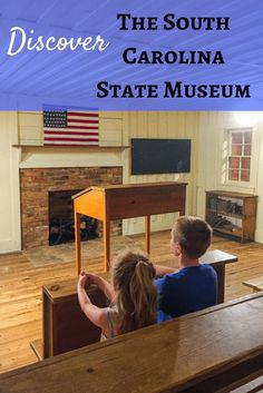 The South Carolina State Museum features four floors of permanent exhibits on history, art, natural history and science and technology. Explore the diverse and exciting history of South Carolina through fascinating displays on dinosaurs, pre-historic foss
