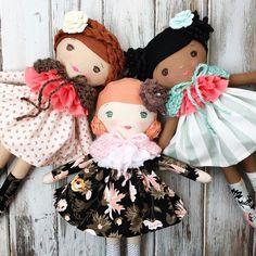 Heirloom Handmade Dolls by SpunCandy photo by @spuncandydolls