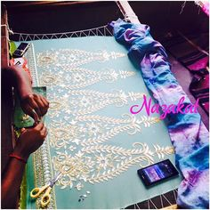 Work in full swing We are loving the wedding festive season Thankyou for trusting us and making us a part of your special days! For any queries please DM or whatsapp us! Shipping Worldwide ❤️ #work #white #pink #green #mint #blingy #bling #gold #golden #pretty #beautiful #elegant #lovely #awesome #amazing #loveit #wow #indian #indianwear #ladies #ladieswear #ethnic #ethnicwear #women #womenwear #musthave #dontmiss #nazakat #weddingseason #embroidery