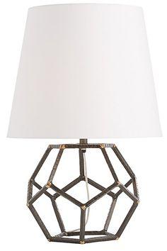 Awesome geometric lamp