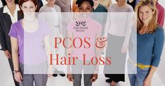 The PCOS-Hair Loss Link Polycystic ovarian syndrome (PCOS) is a common endocrine disorder that affect women's ovaries. Some of its common symptoms include fatigue, weight gain and increased facial hair. Pcos Hair Loss, Hair Loss Causes, Hair Loss Women, Prevent Hair Loss, Vitamins For Hair Growth, Hair Vitamins, Thin Hair Styles For Women, Hair Growth Cycle, Extreme Hair
