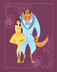 Belle and Beast - Beauty and the Beast