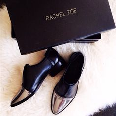 Rachel Zoe Raven oxfords by eat. Shoe Boots, Shoes Sandals, Ankle Boots, Shoe Bag, Cute Shoes, Me Too Shoes, Eat Sleep Wear, Casual Chique, Rachel Zoe