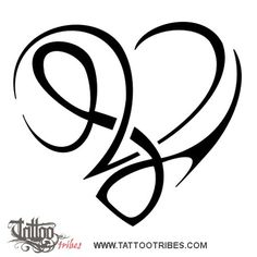 Image Result For Double L Tattoo Heart Tattoos L Tat