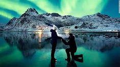 northern lights real northern lights alaska - Google Search Alaska Northern Lights, See The Northern Lights, Romantic Proposal, Proposal Photos, Proposal Ideas, Best Proposals, Marriage Proposals, Best Proposal Ever, Places Around The World