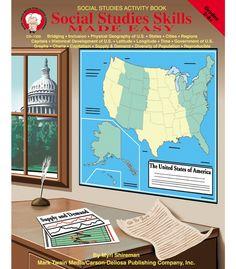 #CDWishList Social Studies Skills Made Easy Resource Book - Carson Dellosa Publishing Education Supplies