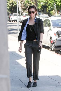 Kristen Stewart and Alicia Cargile in LA March 2015 | POPSUGAR Celebrity