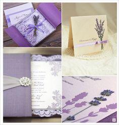 decoration mariage provence faire part boite lavande