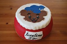 Another example of Bamse Birthday Cake