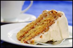 Banana Cake With Cream Cheese Frosting ~ Co Go FooD