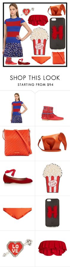 """fashion for women's​"" by denisee-denisee ❤ liked on Polyvore featuring STELLA McCARTNEY, Sarah Summer, Cole Haan, Loewe, Tabitha Simmons, Happy Embellishments, Heidi Klein, Fendi, Shourouk and Norma Kamali"