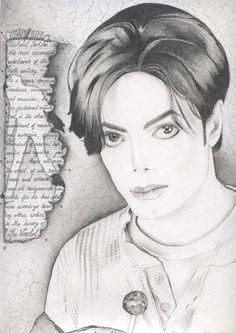 MJ fan art