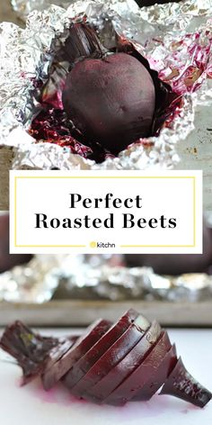 Here's an easy step-by-step guide for roasting perfectly tender beets every time. Beet Recipes, Vegetarian Recipes, Healthy Recipes, Healthy Foods, Vegetarian Grilling, Healthy Eating, Healthy Grilling, Dishes Recipes, Veggies