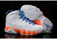 "quality design 16983 9eb81 Girls Air Jordan 9 ""Fontay Montana"" White Blue Orange For Sale Super Deals  FcZYbQS, Price   88.00 - Adidas Shoes,Adidas Nmd,Superstar,Originals"