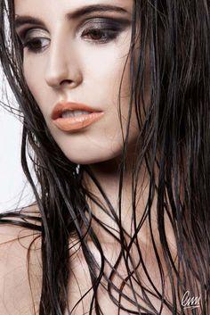 Dark Smoky eye makeup from LMI students! #makeupartist #makeupaddict #dark #eyemakeup