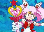 """Sailor Moon S  Episode 103    Hello, Sailor Mini Moon    Jap.103 """"The Arrival of the Tiny Pretty Soldier"""""""