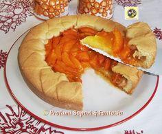Crostata di albicocche fresche, ricetta golosa  Blog Profumi Sapori & Fantasia