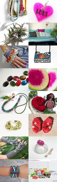 Funny Colors by Laura P. on Etsy--Pinned with TreasuryPin.com