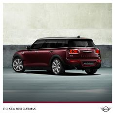 World-class engineering, legendary handling and more room than ever before. The new #MINI #Clubman is coming soon.