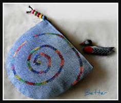 Textil képzelet és nem csak: Táskák farmer