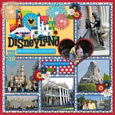 Credits Template by Kellybell Designs Pocket Story Templates Volume 2 Template 1 Cover Story Volume 8 Disneyland Magical Dream Vacation and Simple Dates Volume 15 by Kellybell Designs Paper Bag Scrapbook, Disney Scrapbook Pages, Scrapbook Sketches, Scrapbook Page Layouts, Scrapbook Cards, Scrapbooking Ideas, Scrapbook Titles, Photo Layouts, Disneyland 60th