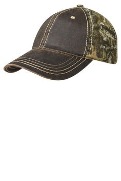 Port Authority Pigment-Dyed Camouflage Cap C819 Mossy Oak Infinity