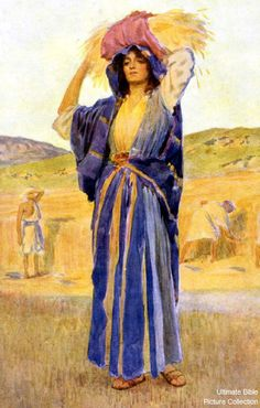 Ruth was a Moabitess, who married into the Hebrew family of Elimelech and Naomi, whom she met when they left Bethlehem and relocated to Moab due to a famine. Elimelech and his two sons died leaving Naomi and her two daughters-in-law as widows. When Naomi decided to return to Bethlehem, Ruth decided to go with her . The genealogy in the final chapter of the book explains how Ruth became the great-grandmother of David: Boaz begot Obed, Obed begot Jesse and Jesse begot David (Ruth 4:17).