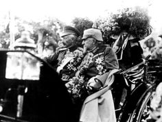 Zar Ferdinand I of Bulgaria and Kaiser Wilhelm II of Germany