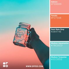 As creatives, we don't just stick to a color palette with a certain fixed saturation and hue level. Summer Color Palettes, Spring Color Palette, Pastel Colour Palette, Colour Pallette, Summer Colors, Colour Schemes, Pastel Colors, Color Combos, Couleur Hexadecimal