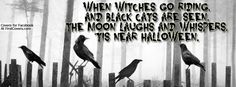 Happy Halloween Quotes and Sayings Halloween Cover Photo Facebook, Halloween Cover Photos, Image Halloween, Pretty Halloween, Halloween Banner, Halloween Cat, Halloween 2014, Facebook Cover Images, Facebook Profile Picture