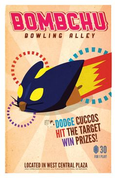 Zelda Bundle Pack 4 posters by PaperHooch on Etsy